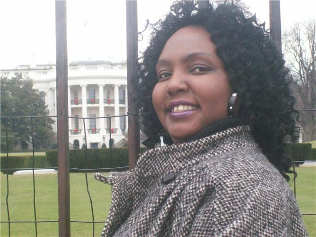 Evangelist D. J. Renee in Washington D. C.